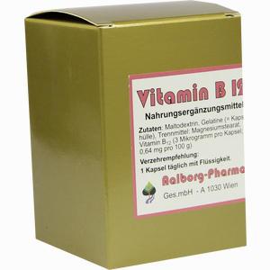 Abbildung von Vitamin B12 Kapseln Aalborg pharma 60 Stück
