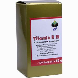 Abbildung von Vitamin B12 Kapseln Aalborg pharma 120 Stück