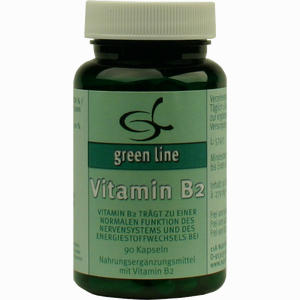 Abbildung von Vitamin B2 Kapseln 90 Stück