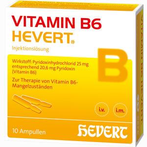 Abbildung von Vitamin B6 Hevert Ampullen 10 x 2 ml