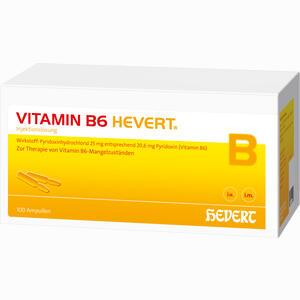 Abbildung von Vitamin B6 Hevert Ampullen 100x2 ml