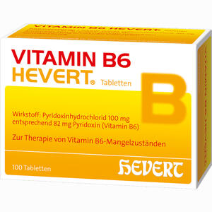 Abbildung von Vitamin B6 Hevert Tabletten 100 Stück