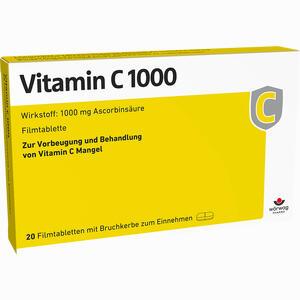 Abbildung von Vitamin C 1000 Filmtabletten  20 Stück