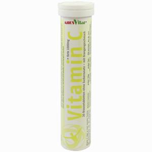 Abbildung von Vitamin C 1000mg Amosvital Brausetabletten 20 Stück