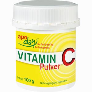 Abbildung von Vitamin C Dose Pulver 100 g