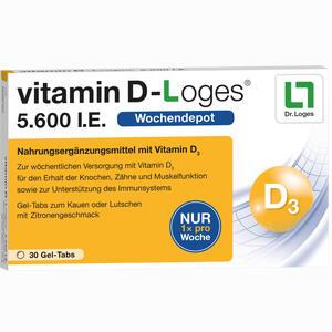 Abbildung von Vitamin D- Loges 5.600 I.e. Kautabletten 30 Stück