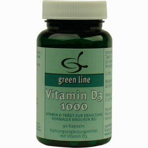 Abbildung von Vitamin D3 1000 Kapseln 90 Stück