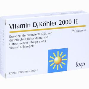 Abbildung von Vitamin D3 Köhler 2000 Ie Kapseln  20 Stück