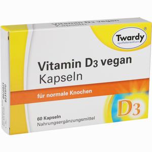 Abbildung von Vitamin D3 Vegan Kapseln Hartkapseln 60 Stück