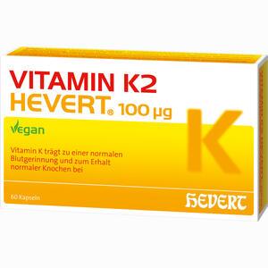 Abbildung von Vitamin K2 Hevert 100 Ug Kapseln 60 Stück