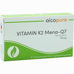 Abbildung von Vitamin K2 Mena- Q7 100 µg Kapseln 30 Stück