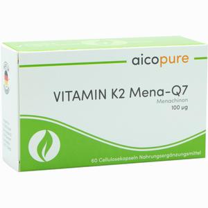 Abbildung von Vitamin K2 Mena- Q7 100 µg Kapseln 60 Stück