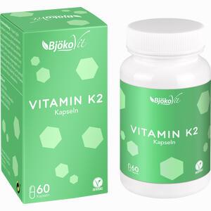 Abbildung von Vitamin K2 Mk- 7 All- Trans Vegan Kapseln  60 Stück