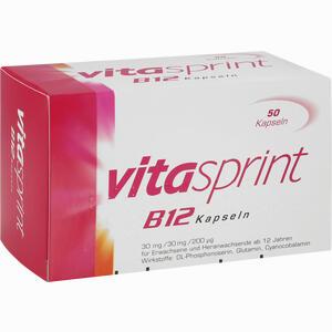 Abbildung von Vitasprint B12 Kapseln 50 Stück