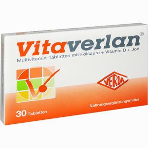 Abbildung von Vitaverlan Tabletten 30 Stück
