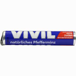 Abbildung von Vivil Natürliches Pfefferminz Ohne Zucker Rolle 1 Stück