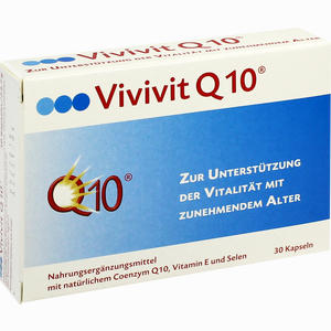 Abbildung von Vivivit Q 10 Kapseln 30 Stück