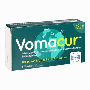 Abbildung von Vomacur 40 Zäpfchen 5 Stück