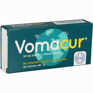 Abbildung von Vomacur Tabletten  20 Stück