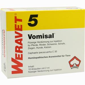 Abbildung von Vomisal 5 Vet Ampullen 10 x 2 ml