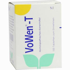Abbildung von Vowen T Tabletten 100 Stück