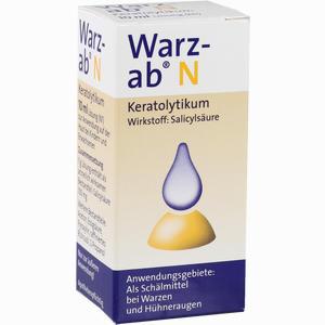 Abbildung von Warz Ab N Keratolytikum Lösung 10 ml