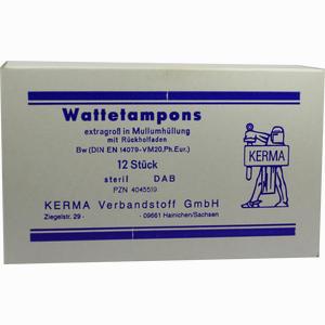 Abbildung von Wattetampons Exg Ster Mull 12 Stück