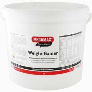Abbildung von Weight Gainer Scho Megamax  7000 g