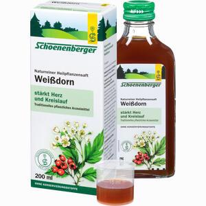 Abbildung von Weissdornsaft Schoenenberger  200 ml