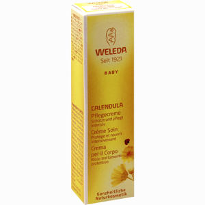 Abbildung von Weleda Calendula Pflegecreme 10 ml