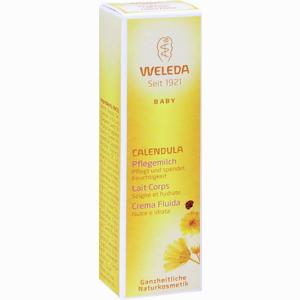 Abbildung von Weleda Calendula Pflegemilch 10 ml