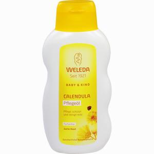 Abbildung von Weleda Calendula- Pflegeöl unparfümiert Baby&kind Öl 200 ml