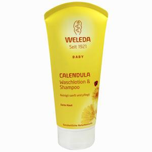 Abbildung von Weleda Calendula- Waschlotion & Shampoo Baby & Kind Xdg 200 ml