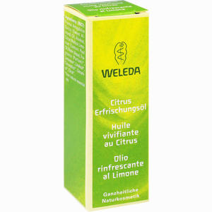 Abbildung von Weleda Citrus- Erfrischungsöl Öl 10 ml