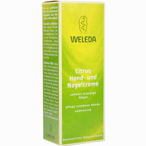 Abbildung von Weleda Citrus- Hand- und Nagelcreme 50 ml