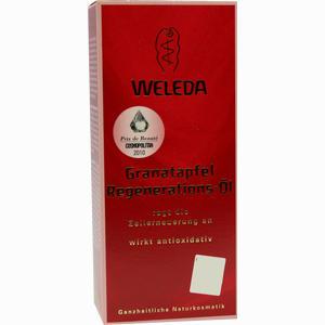 Abbildung von Weleda Granatapfel Regenerations- Öl  100 ml