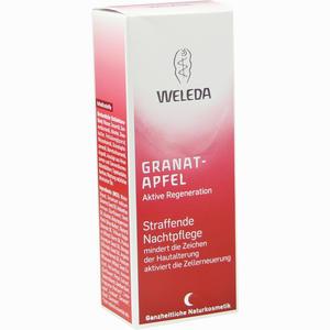 Abbildung von Weleda Granatapfel Straffende Nachtpflege Nachtcreme 30 ml