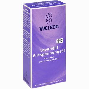 Abbildung von Weleda Lavendel- Entspannungsöl Öl 100 ml