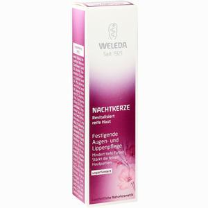 Abbildung von Weleda Nachtkerze festigende Augen- /lippenpflege Creme 10 ml