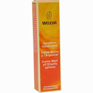 Abbildung von Weleda Sanddorn- Handcreme 10 ml