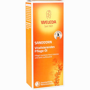 Abbildung von Weleda Sanddorn Vitalisierendes Pflege- Öl  100 ml