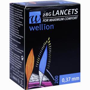 Abbildung von Wellion 28g Lancets Lanzetten 200 Stück