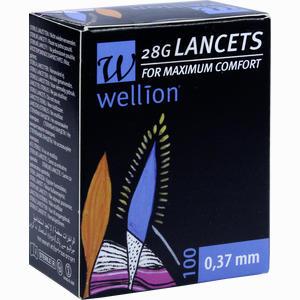 Abbildung von Wellion 28g Lancets Lanzetten 100 Stück