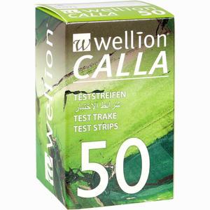 Abbildung von Wellion Calla Blutzuckerteststreifen  50 Stück