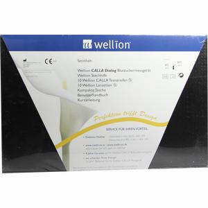 Abbildung von Wellion Calla Dialog Blutzuckermessgerät Set Mg/Dl 1 Packung