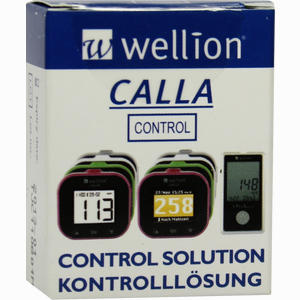 Abbildung von Wellion Calla Kontrolllösung Stufe 1  1 Stück