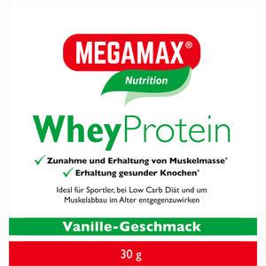 Abbildung von Wheyprotein Lactosefrei Vanille Megamax Pulver 30 g