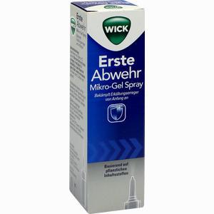 Abbildung von Wick Erste Abwehr Mikro- Gel- Spray Sprühflasche 15 ml