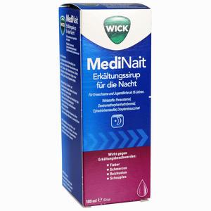 Abbildung von Wick Medinait Erkältungssirup für die Nacht  180 ml