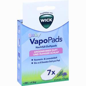 Abbildung von Wick Vapopads 7 Rosemarin Lavendel Pads für Wbr7 1 Packung